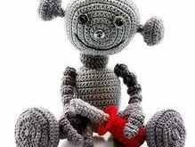 Android Häkelanleitung roboter fantasy Amigurumi