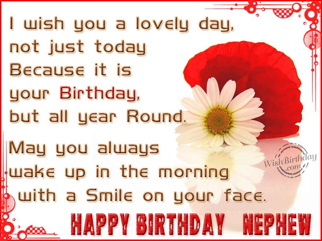 Best Happy Birthday Nephew Quotes Ideas On Pinterest Happy - Free childrens birthday verses for cards