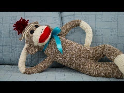 Wonderful DIY Adorable Sock Monkey   Nähzimmer