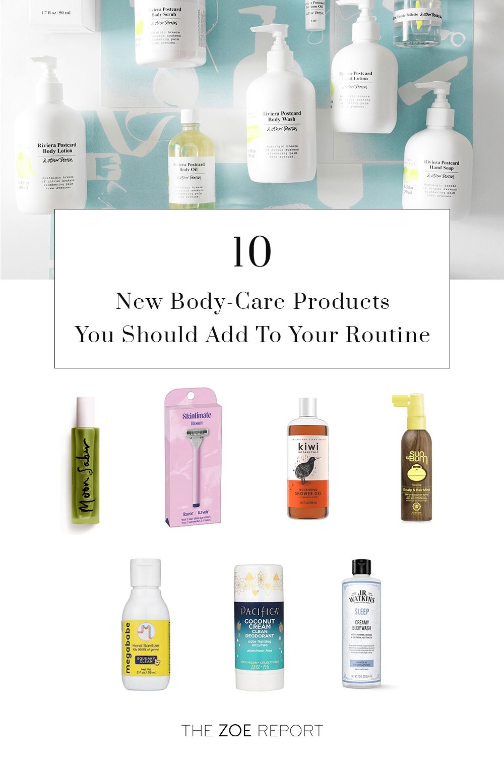 10 New Body Care Launches From Chic Hand Sanitizer To Aluminum