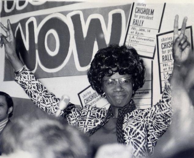 Antes de que Hillary Clinton aspirase a ser presidenta, estuvo Shirley Chisholm #biblioteques_UVEG