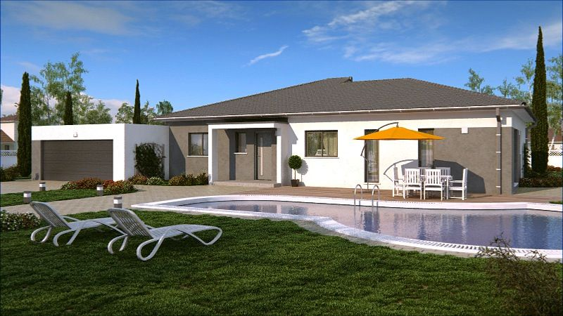 RHODES #construction #villa #demeure #plainpied #moderne #rhodes ...