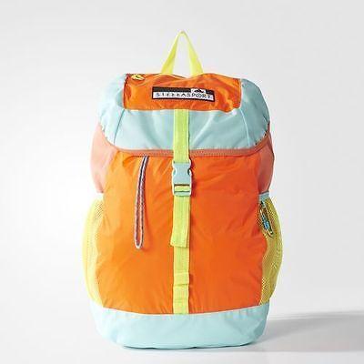 864b2adcb6 adidas Performance STELLASPORT FLAP BACKPACK AZ6387 NEW Orange blue yellow