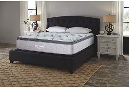 Best Seller Signature Design Ashley Augusta Bed Mattress Conventional King White Online In