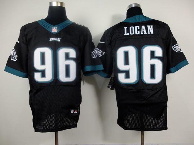 New Cheap Wholesale Mens Philadelphia Eagles #96 Bennie Logan Nike New  hot sale