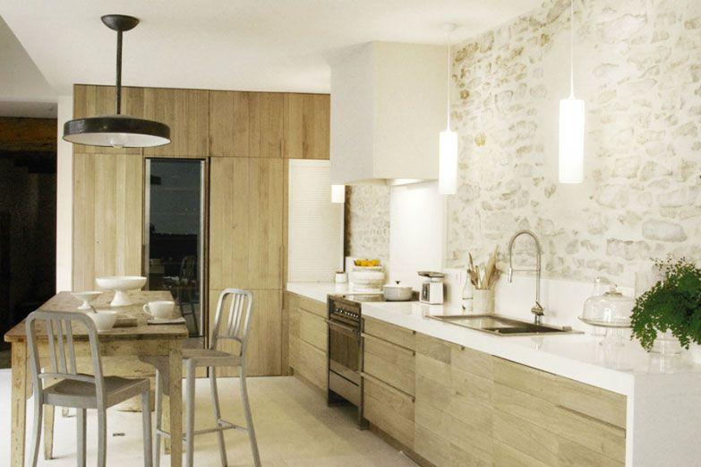 cuisine naturel Inspiration  un intérieur nature DECO cuisine - joint pour plan de travail cuisine