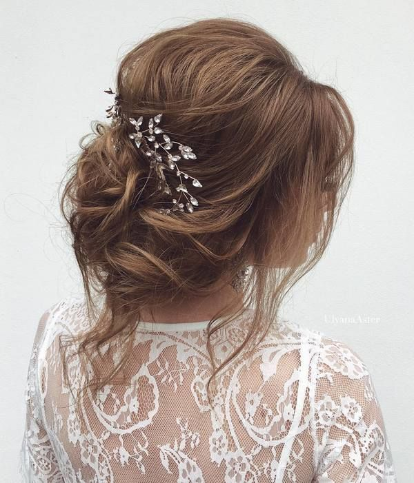 Ulyana Aster Wedding Hairstyles Inspiration   Deer Pearl Flowers