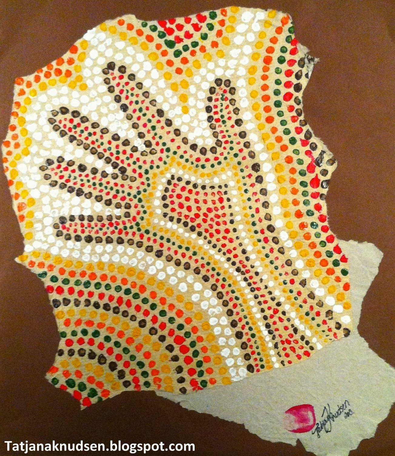 Kan Aboriginal Kunst V Kke Elevernes Opm Rksomhed