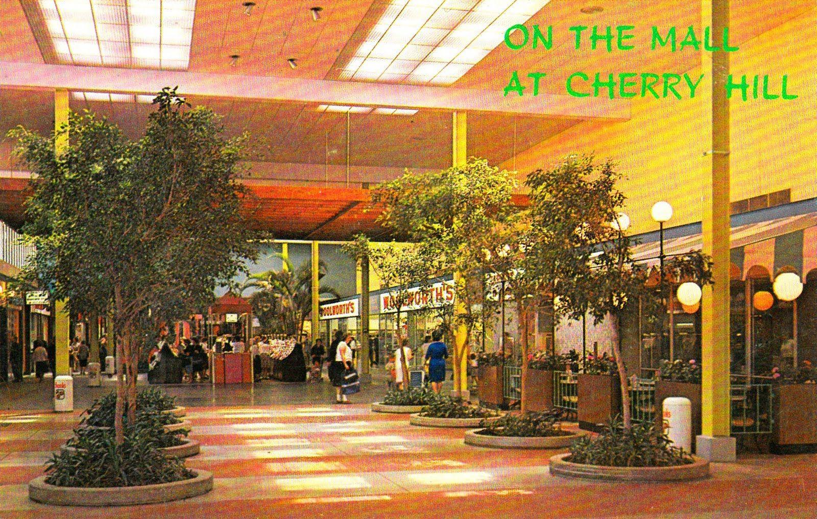 Cherry Hill Mall, New Jersey circa 1961 | modern love | Pinterest ...
