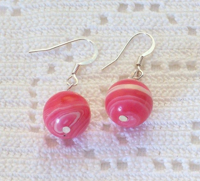 Strawberry Sundae Earrings  £5.00