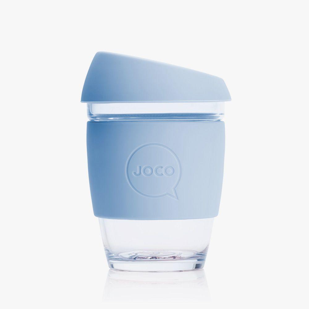 Joco Coffee 12oz Glass CupClean CupsReusable vmwN0On8