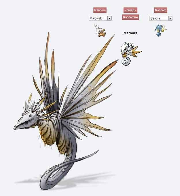 Marodra | 43 Pokemon Mash-Ups That Are Better Than The Real Thing