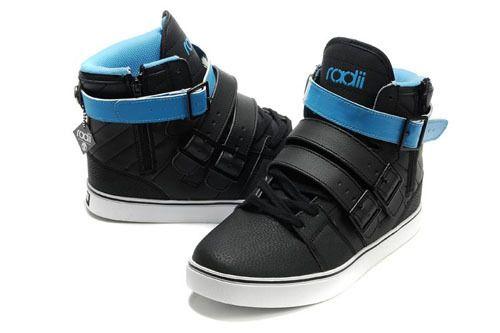 Radii Footwear Straight Jacket Shoe Black/Elephant/Aqua