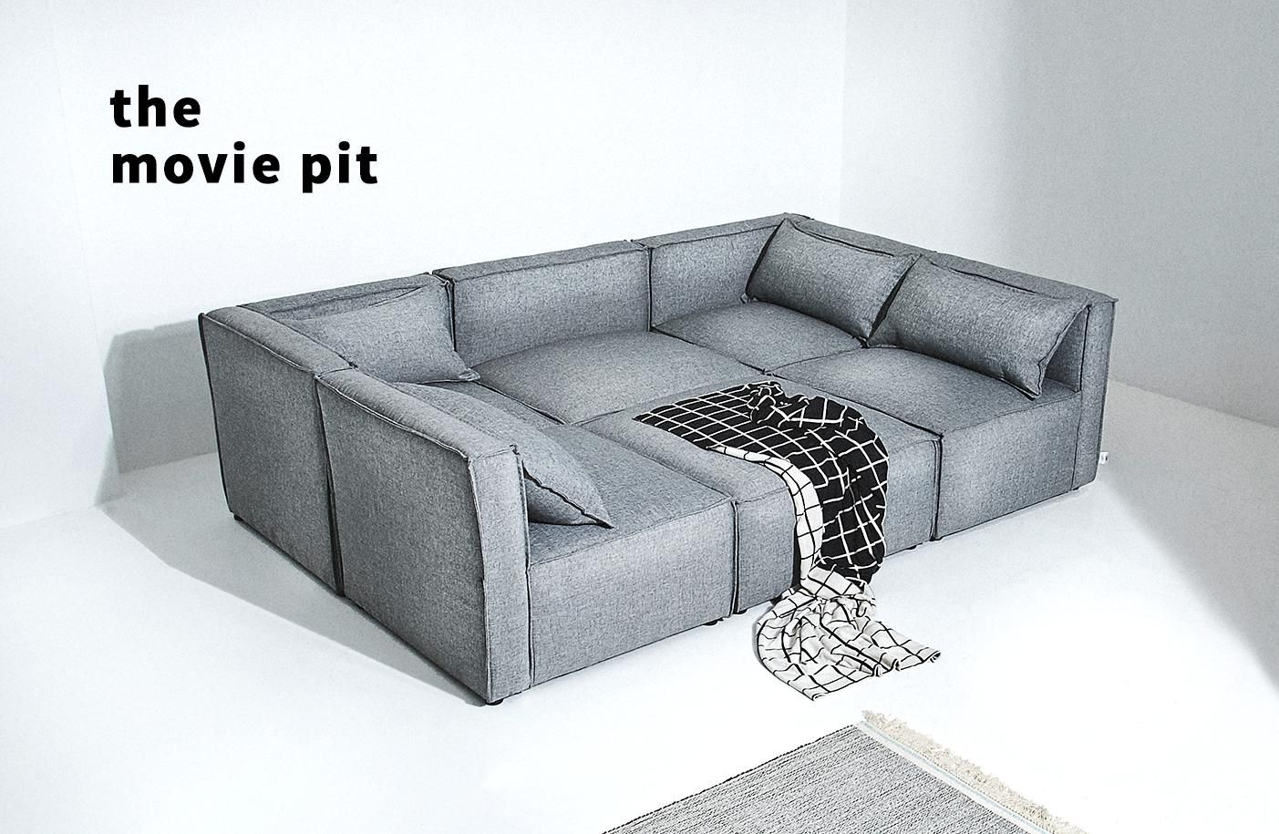Best Modular Sofa Small Space Solves Decor Blog The Way Of