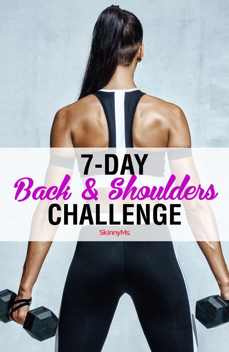 7-Day Back & Shoulders Challenge