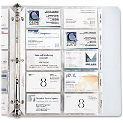 C line business card refill pages 3 hole punched planner c line business card refill pages 3 hole punched reheart Image collections
