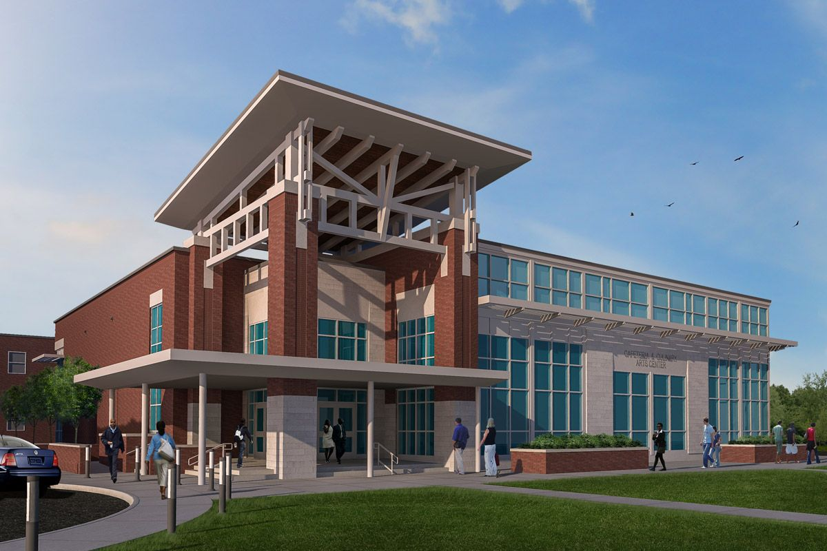 Shreveport Job Corps Center Additions Renovations Us Department Of Labor Jh H Architects