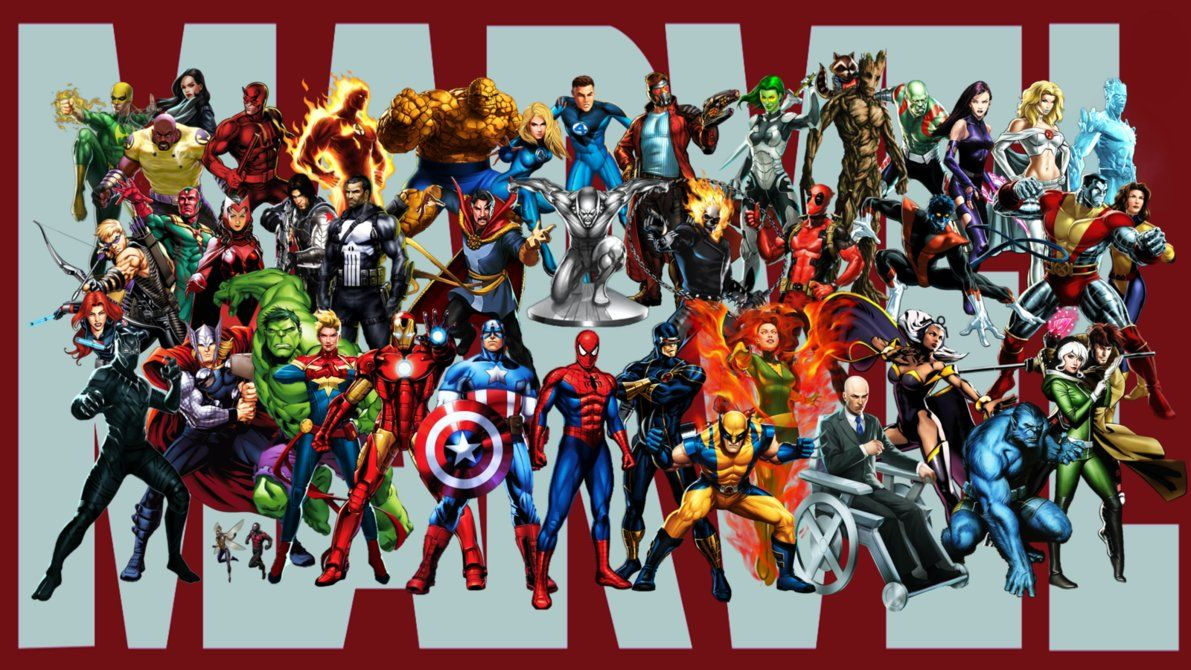 Marvel Malvorlagen Marvel Superhero The Marvel Super: Wallpaper By StingerTheOverLord