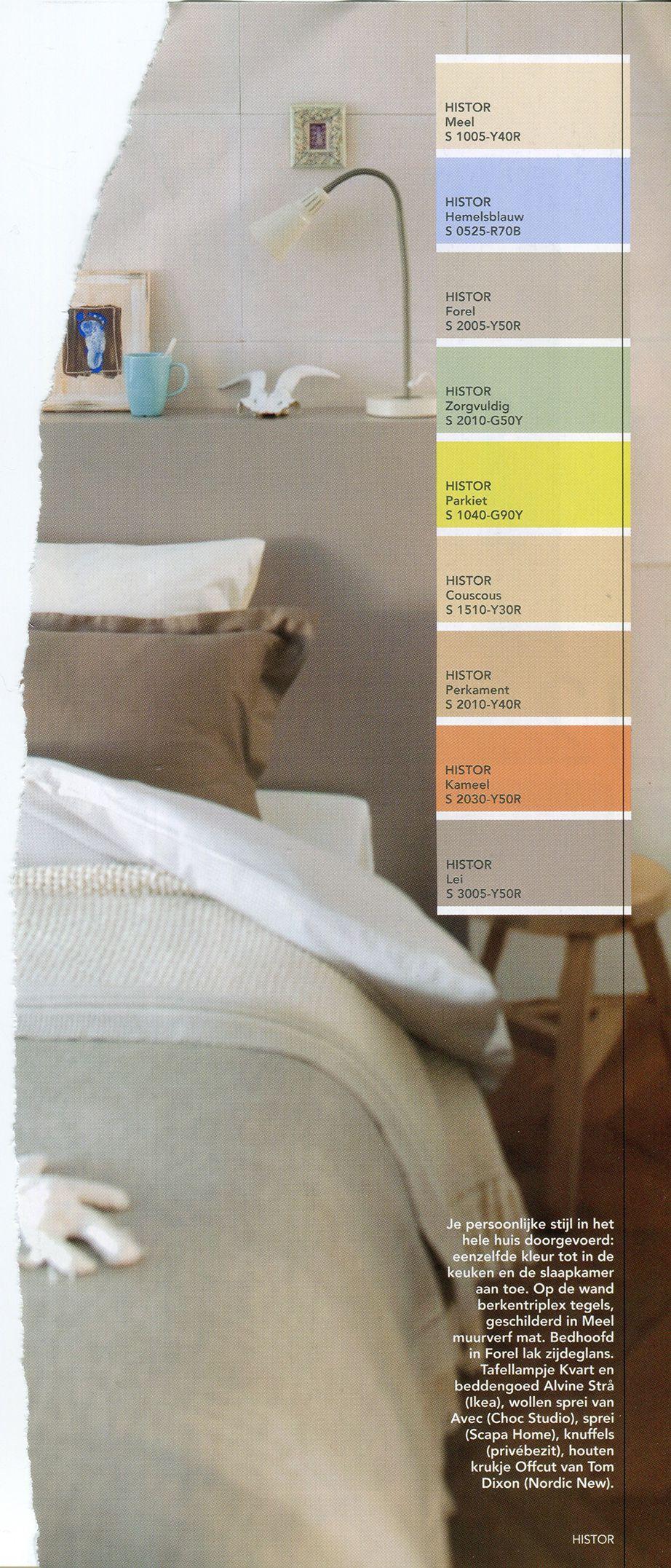 1000+ images about kleuren muur slaapkamers on Pinterest ...