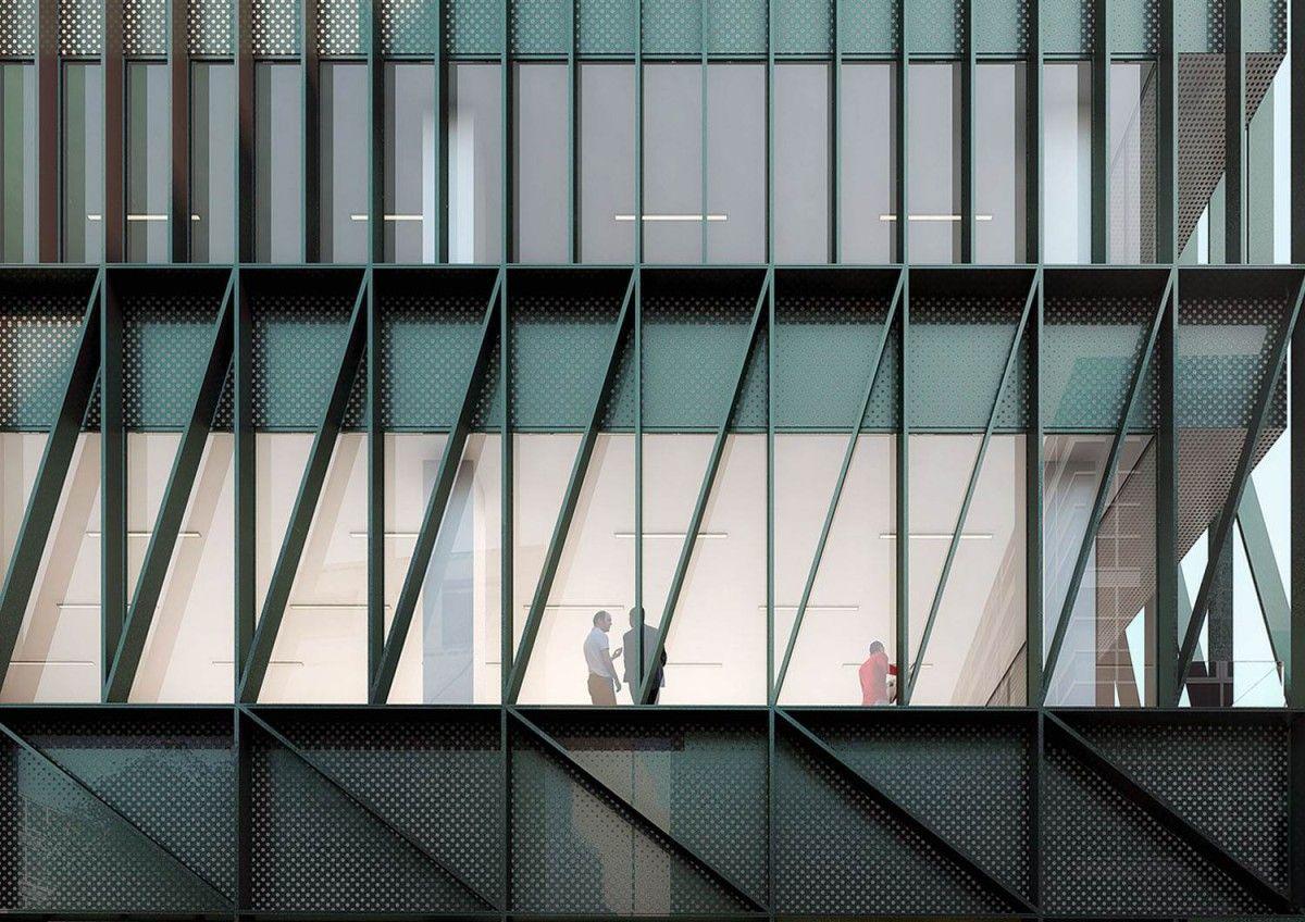 Bureaux crèche à marcq en baroeul maes architectes urbanistes