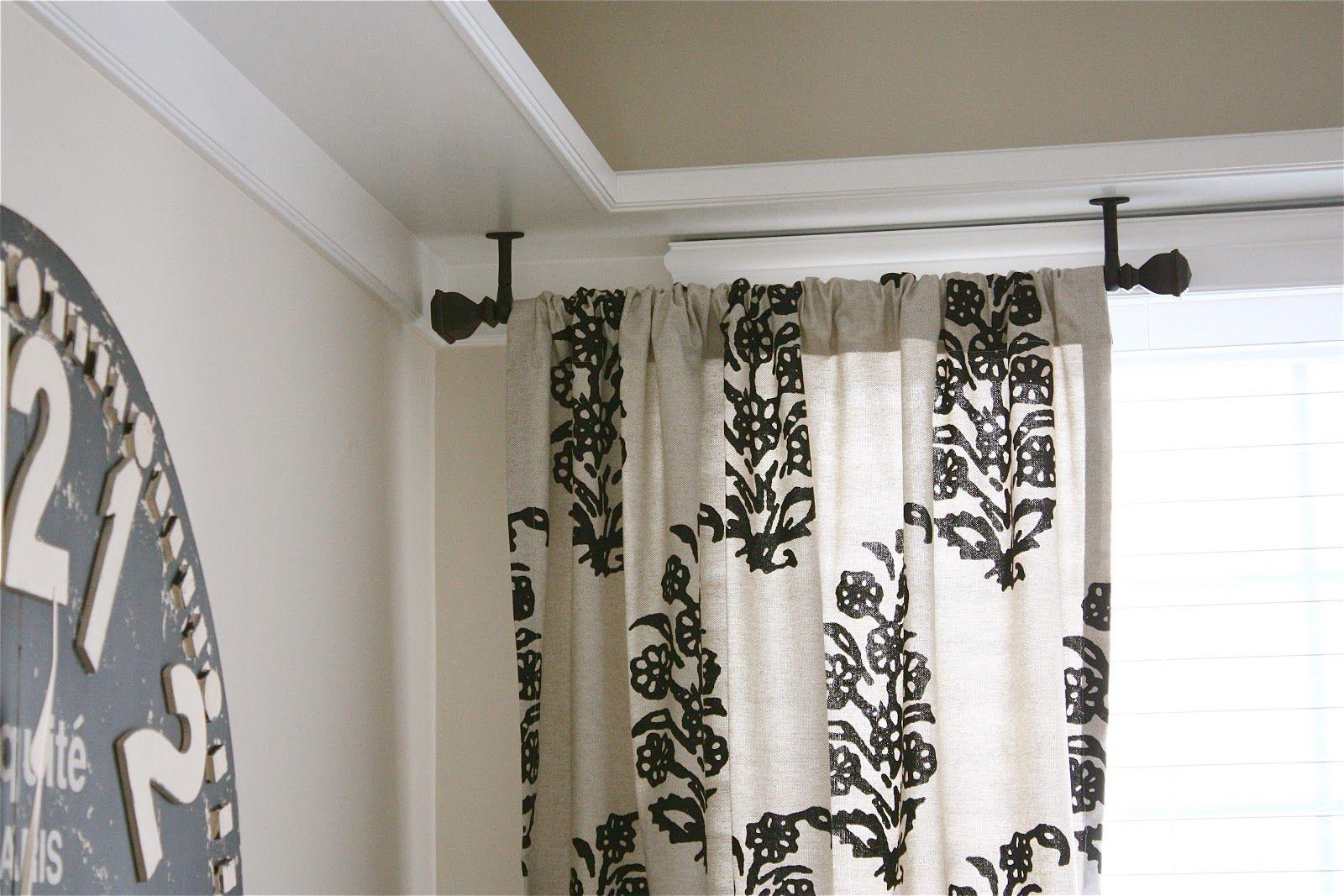 Wonderful Ceiling Mount Curtain Rods Ideas   Http://www.ltgent.com/