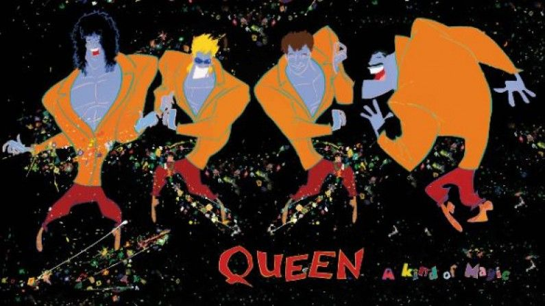Queen A Kind Of Magic A Kind Of Magic Album Art Queen Albums