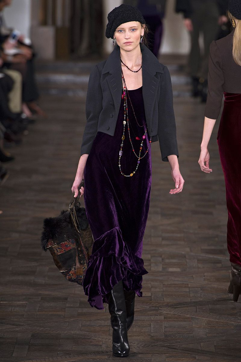 Ralph lauren fall rtw review fashion week runway fashion