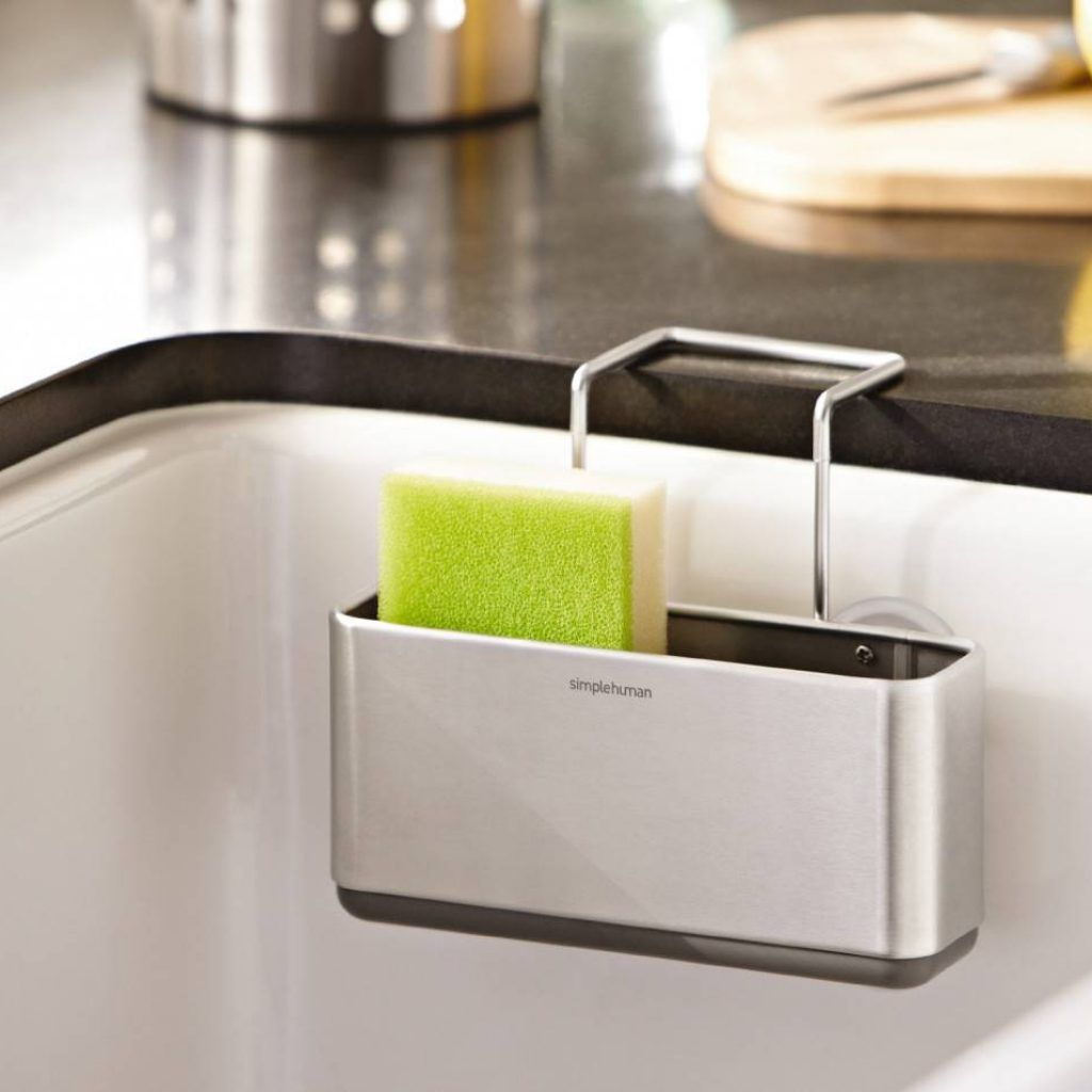 Kitchen Sink Sponge Holder Caddy