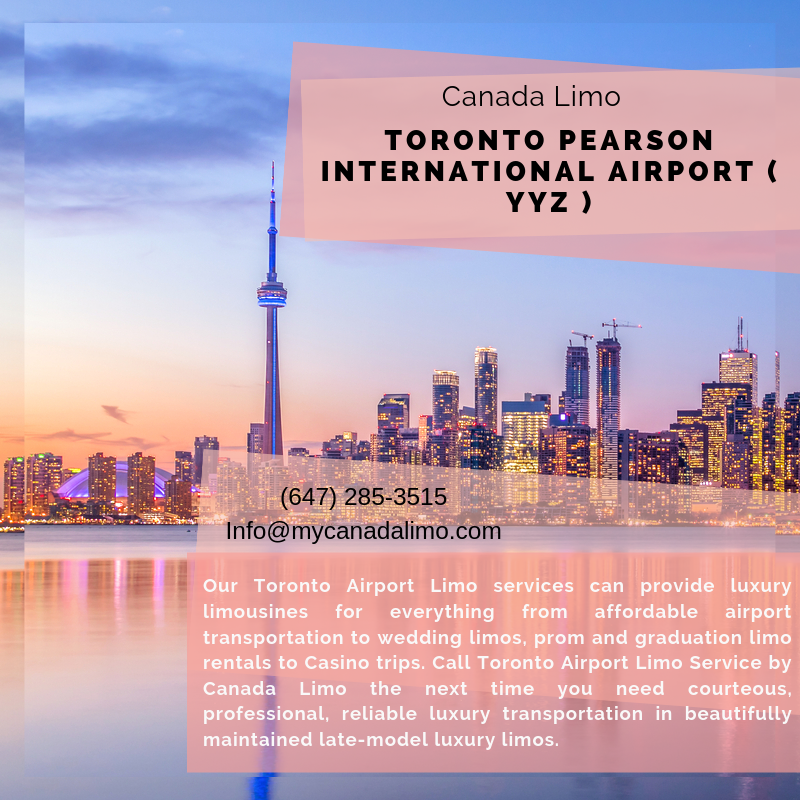 Toronto Airport Limo Service Canada Limo Call us now