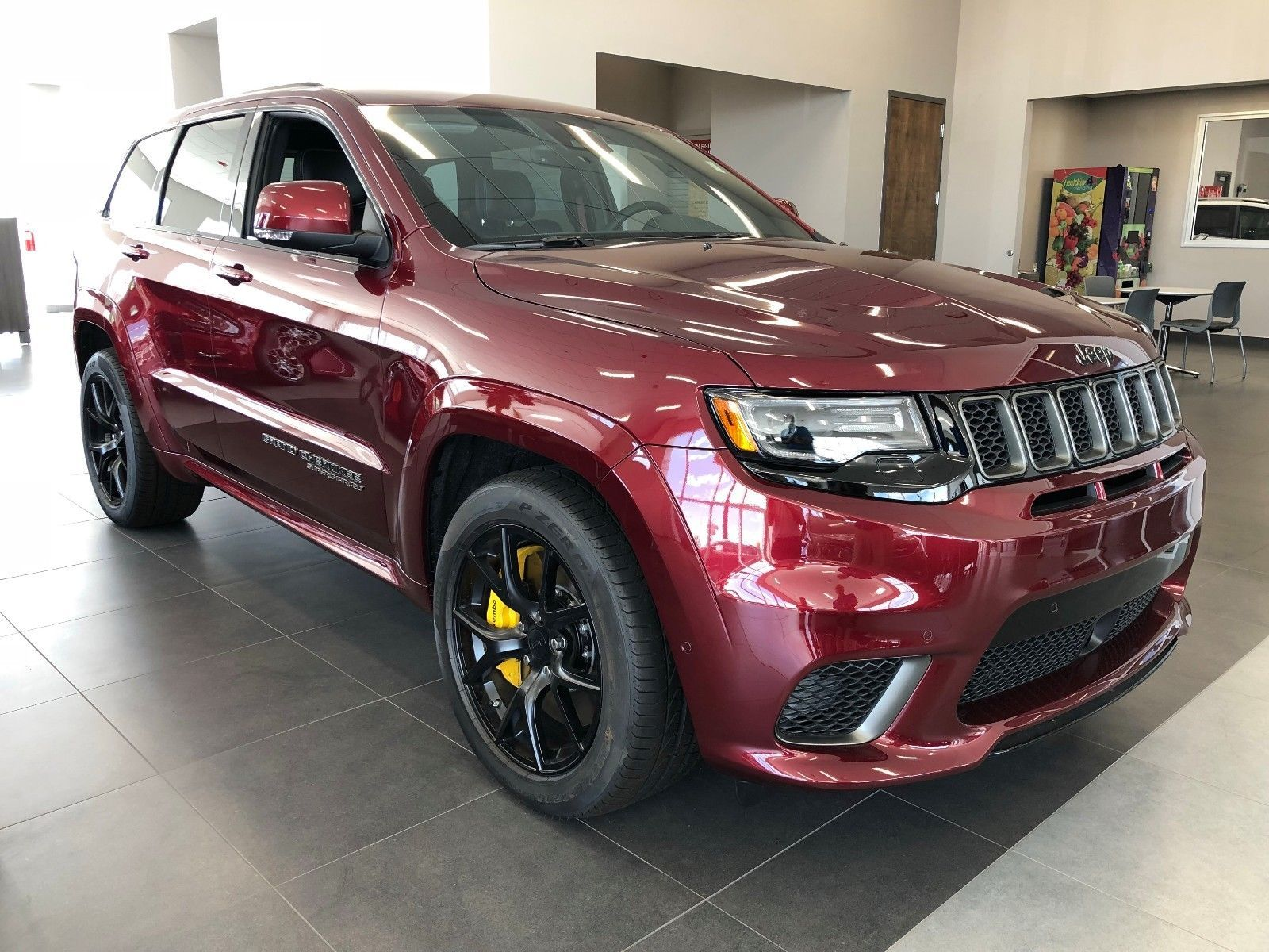 2018 Jeep Grand Cherokee Trackhawk Jeep Grand Cherokee Jeep Grand Cherokee Srt Srt Jeep