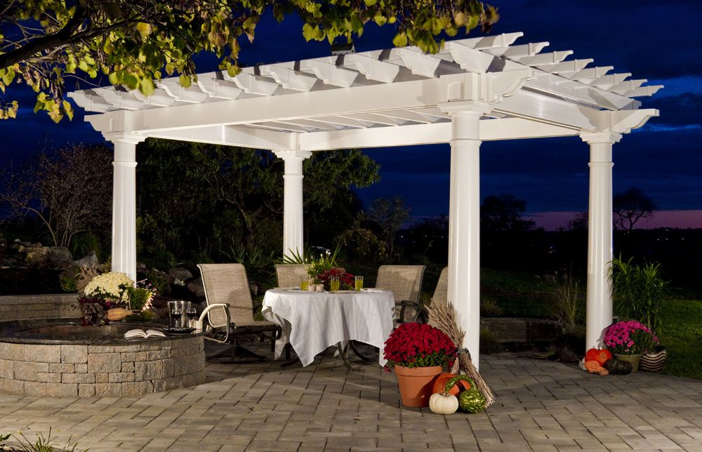 Backyard And Beyond Llc Vinyl Pergola Pergola Pergola Kits