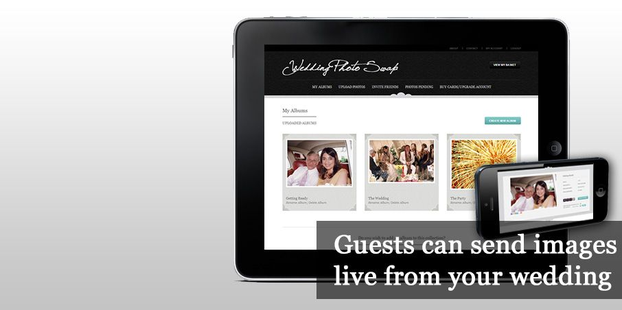 Wedding Photo Swap Website That Privately Lets Guests Share Upload Pictures Won