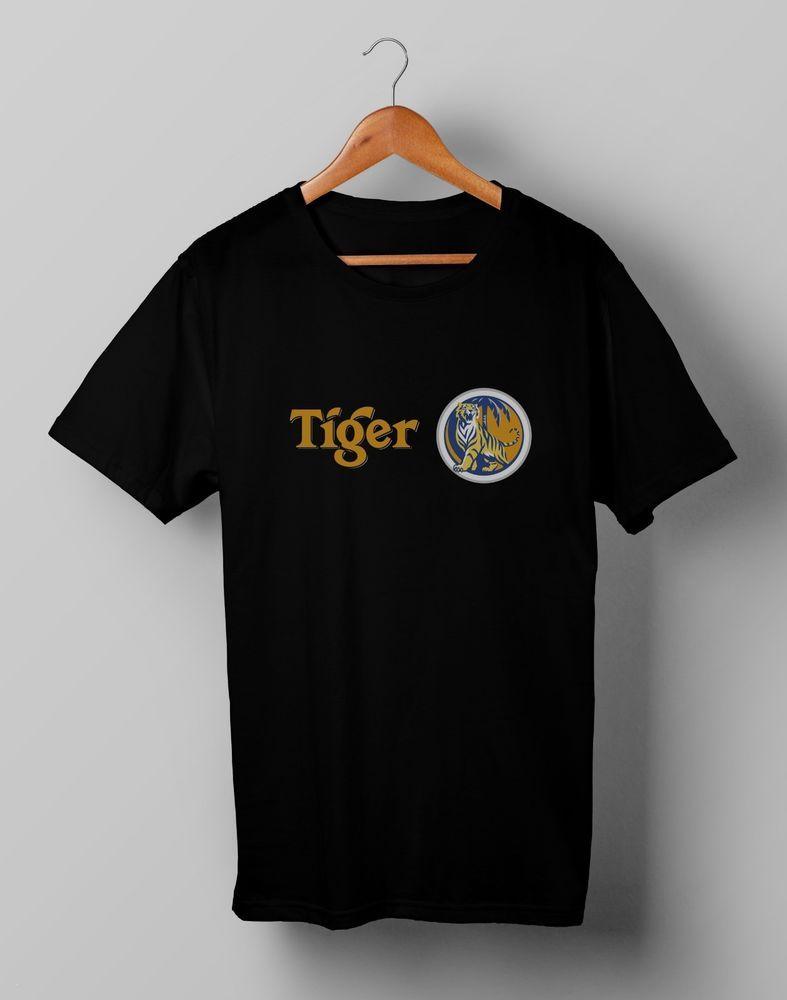 Vintage Tiger Beer Brewery Ale Promo Retro T Shirt Gildan Size S M L Xl 2xl Fashion Clothing Shoes Accessories Mens Shirts Retro Tshirt T Shirts For Women