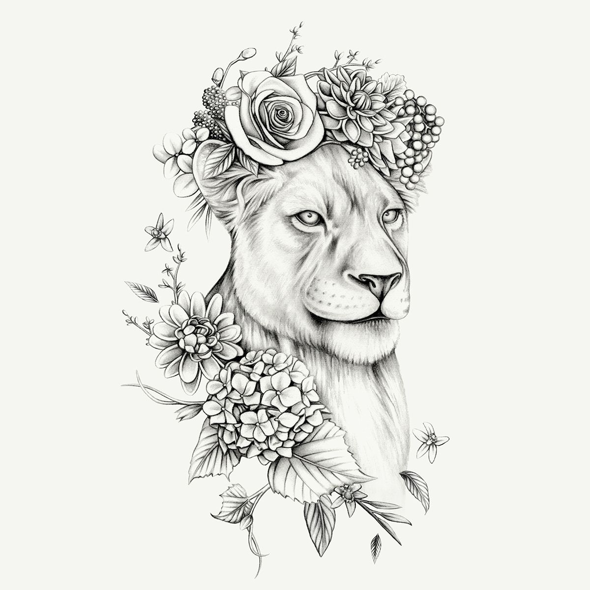 Lioness By Lauren Mortimer Lioness Tattoo Design Lioness Tattoo Lion Tattoo Design