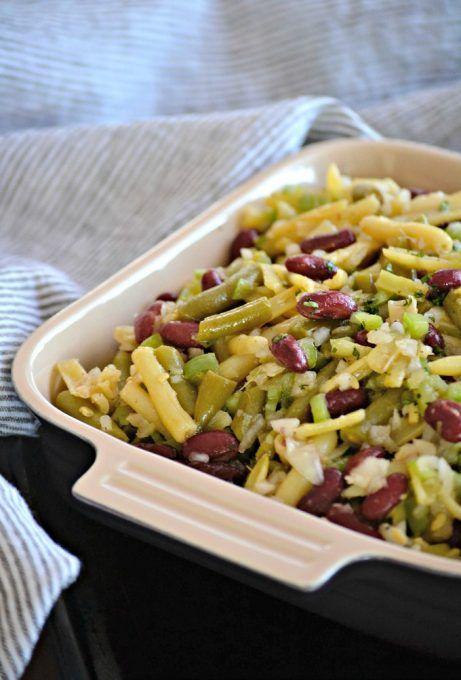 Easy Three Bean Salad Three Bean Salad Bean Salad Bean Salad Recipes