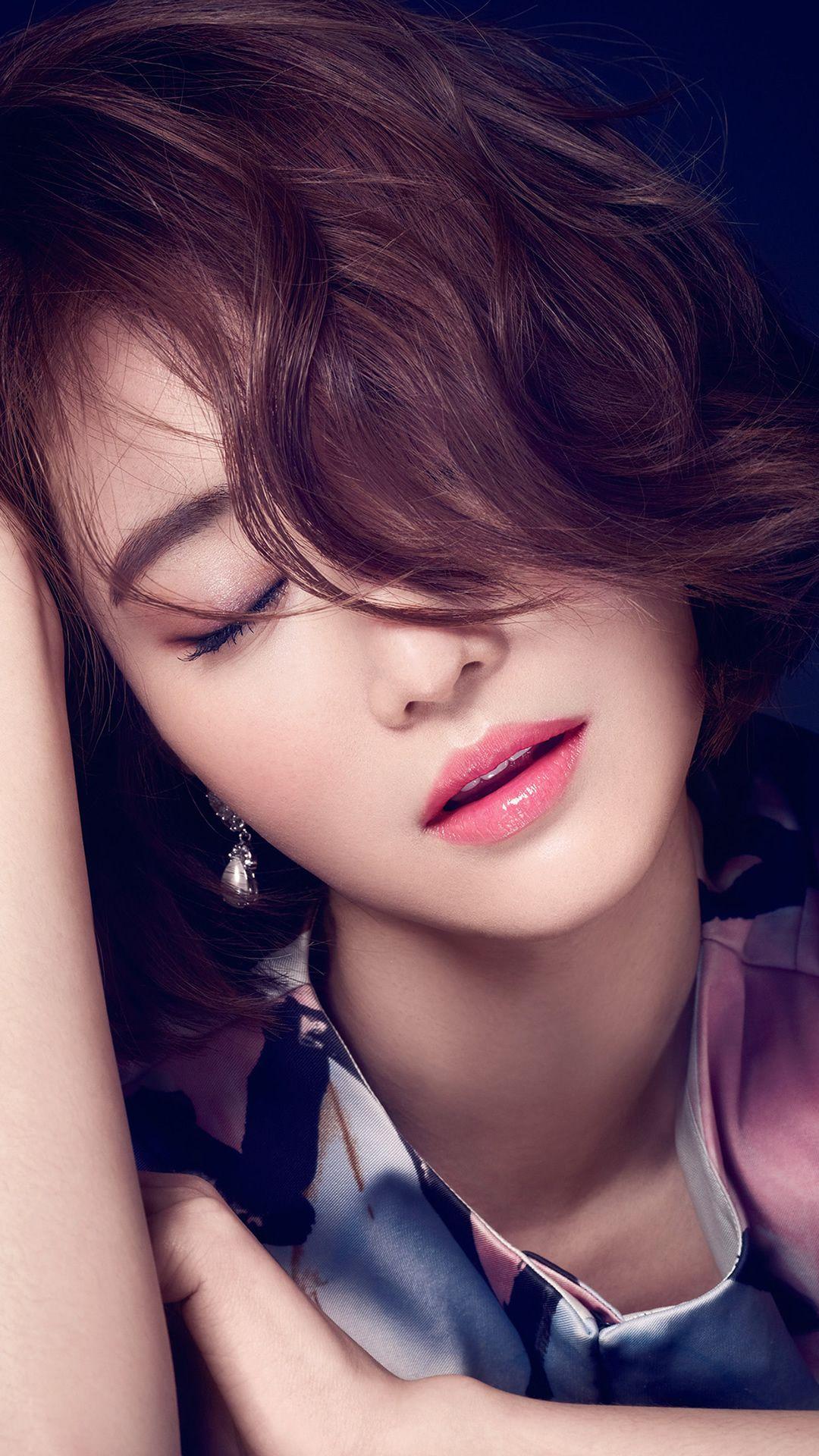 ko joon hee kpop film actress closed eyes iphone 6 wallpaper