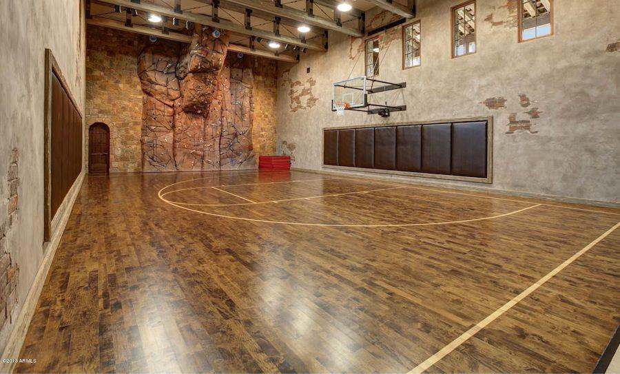Exquisite Scottsdale Compound In Arizona Home Basketball Court Indoor Basketball Court Indoor Basketball