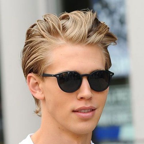 19 Blonde Hairstyles For Men  Blonde hairstyles Blondes and