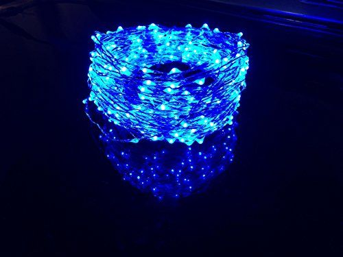 Extreme Blue Firefly Lights Super Long 100 Ft String Leds Electrify Parties Christmas Or Holidays With