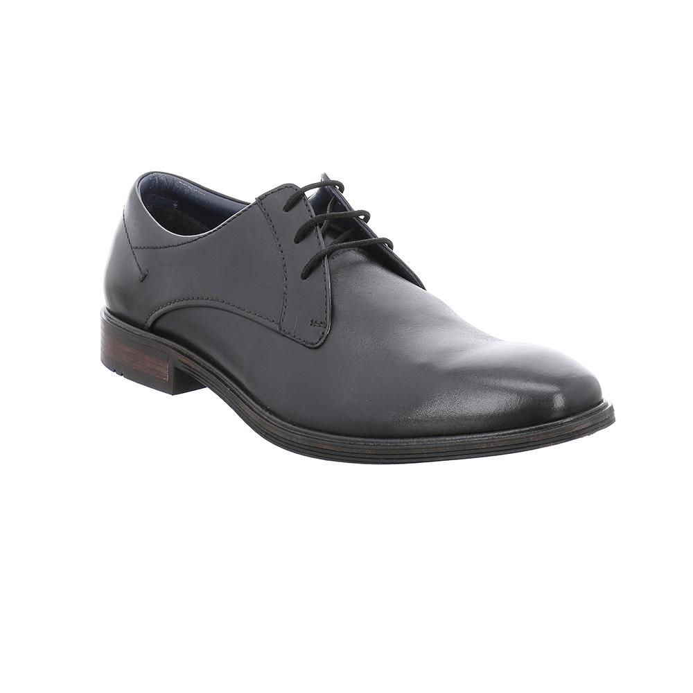 Jonathan 03 Black Dress Shoes Men Leather And Lace Oxford Shoes [ 1000 x 1000 Pixel ]