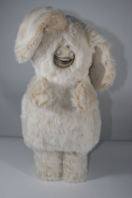 White mammoth fuzzbunny by Curster