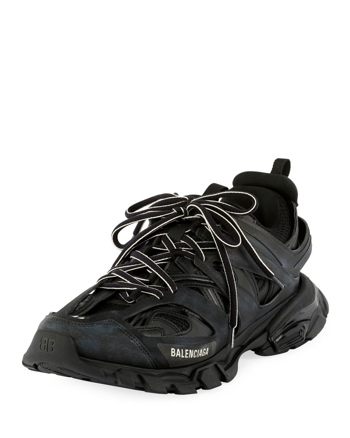 check out 367e8 9b328 BALENCIAGA MEN S TRACK RUNNING SNEAKERS, BLACK.  balenciaga  shoes