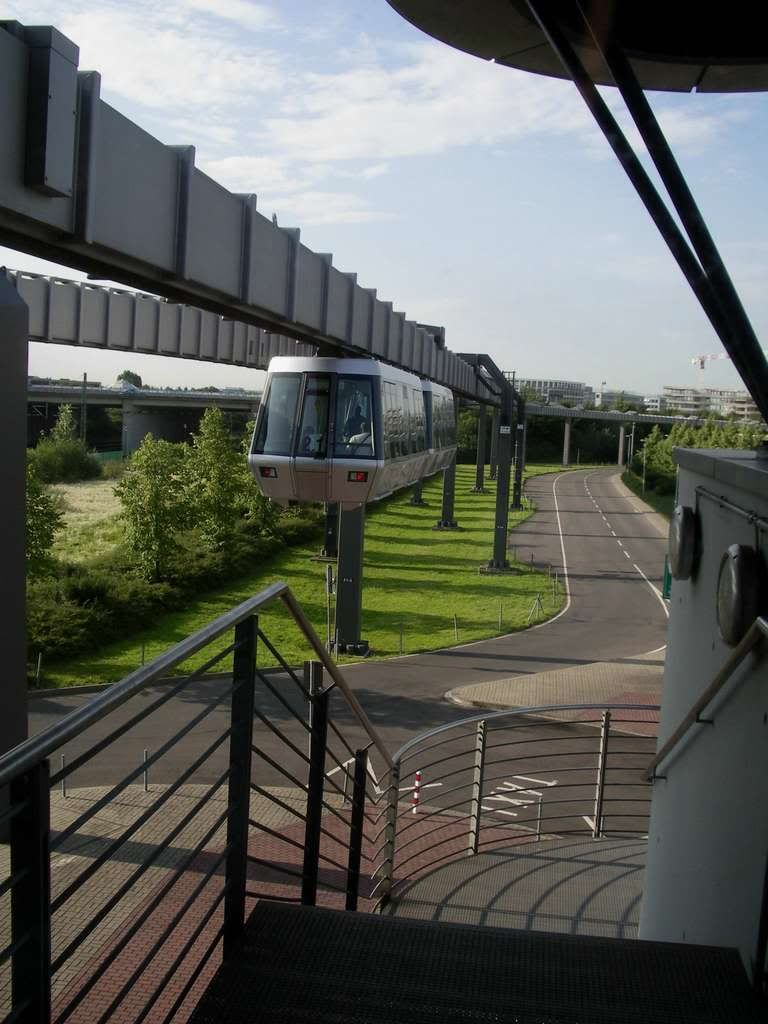 Dusseldorf International Airport Skytrain, Germany in 2019