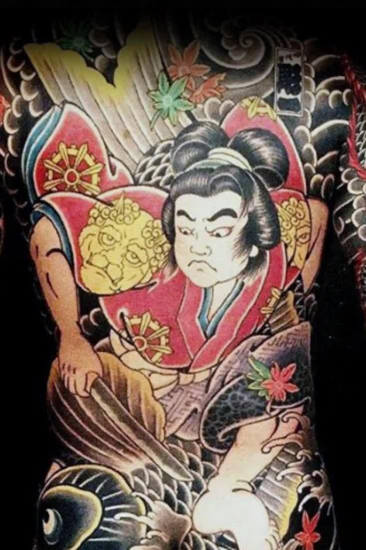 50 Japanese Back Tattoo Designs For Men - Traditional Ink Ideas