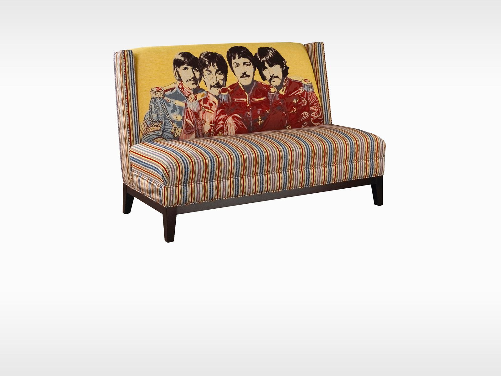 the fab 4 sofa by brentwood design is abundant with this armless