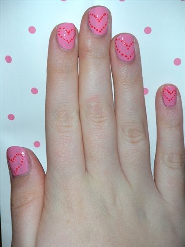 Hearts #nailArt
