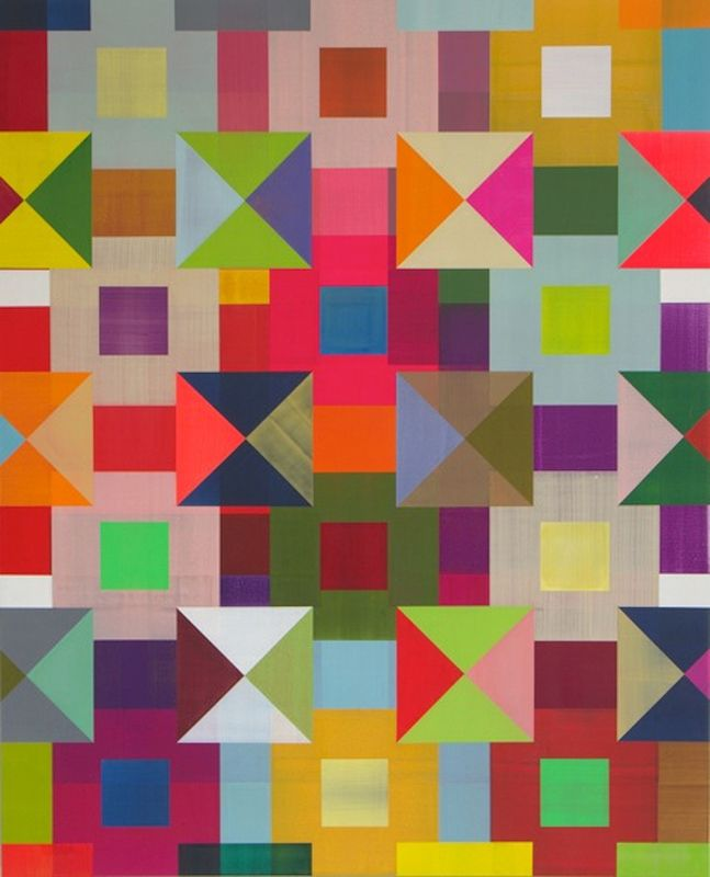 Explore Multicoloured Art Geometric Patterns And More