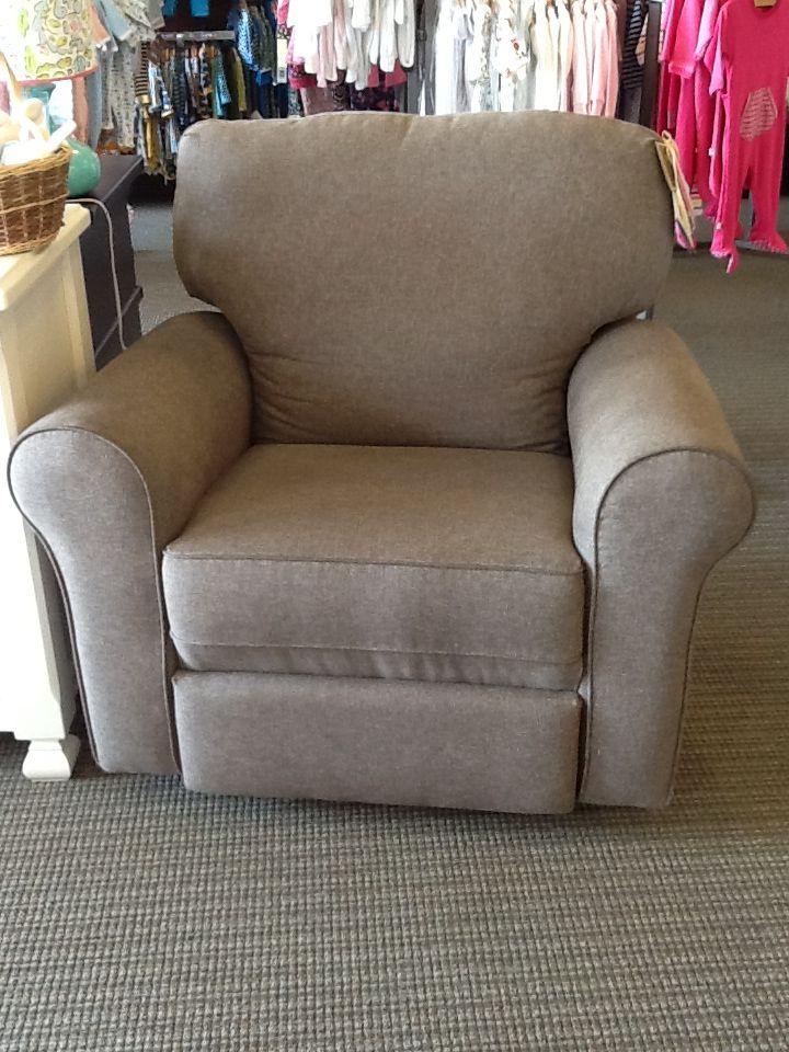 Best Chairs   Irvington Swivel Glider Recliner Shown In Espresso.