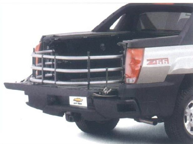 Oem Bed Extender For 2002 And Up Chevy Avalanche Chevy Chevrolet