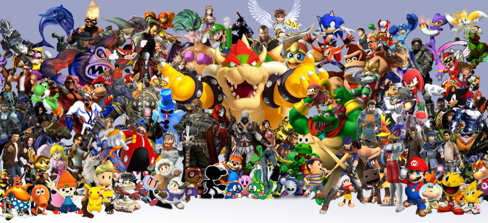 video game collage Teke.wpart.co (With images) Classic